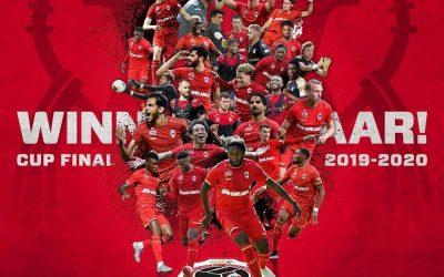 بیرانوند در پوستر قهرمانی آنتورپ (عکس)